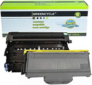 (1 Drum + 1 Toner) GREENCYCLE Replacement Toner Cartridge and Drum Set Compatible for Brother DR360 + TN360 HL-2140/2150/2170 Series Printer