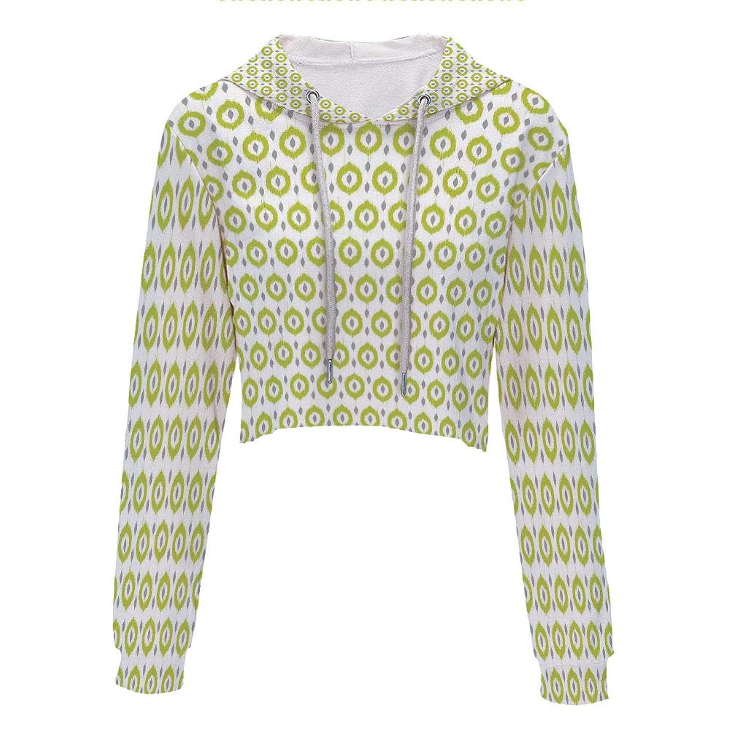 Hooded Sweatshirt Hip hop Clothing for Women S/M MulticolorWatercolor Ice Cream