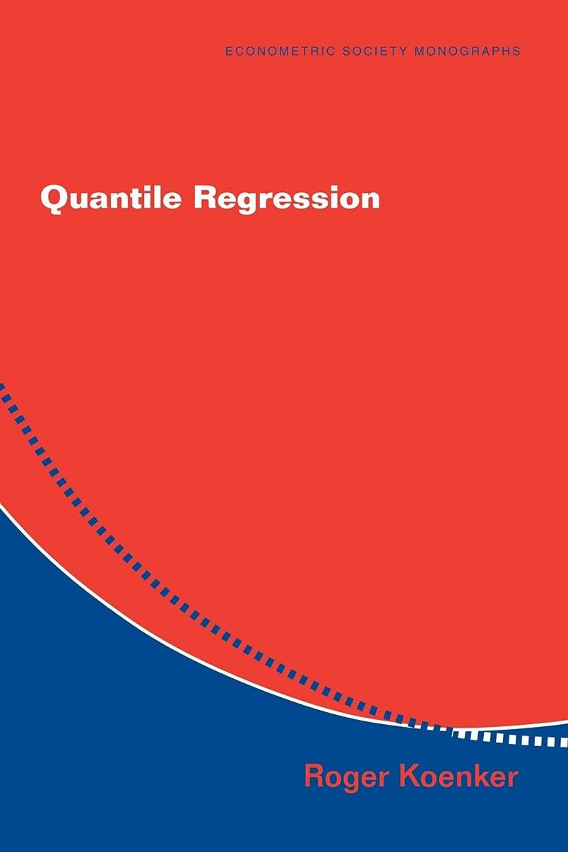 寂しい所持チケットQuantile Regression (Econometric Society Monographs)