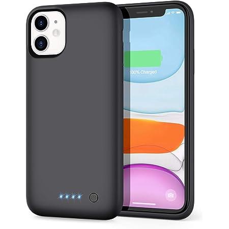 AOPAWA Coque Batterie pour iPhone 11, [6800mAh] Chargeur Rechargeable Batterie Externe Mince Power Bank Étui de Chargeur Cas Protection pour Apple ...