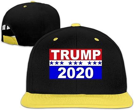 DRE2584WWF Donald-Trump-Flag-2020 Boys and Girls Hip-Hop Baseball Cap Adjustable Cap