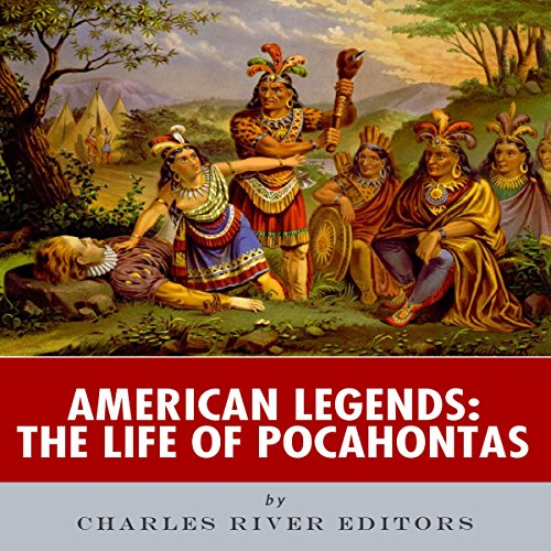 American Legends: The Life of Pocahontas audiobook cover art