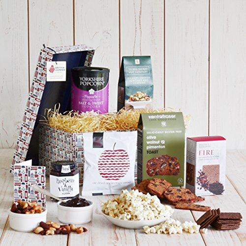 Vegan Delights Gift Hamper - British Vegan Treats, Presented in a Bespoke British Icon Gift Box