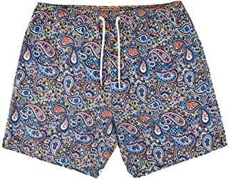 Pretty Green Wonderwall Paisley Swim Shorts - Multi
