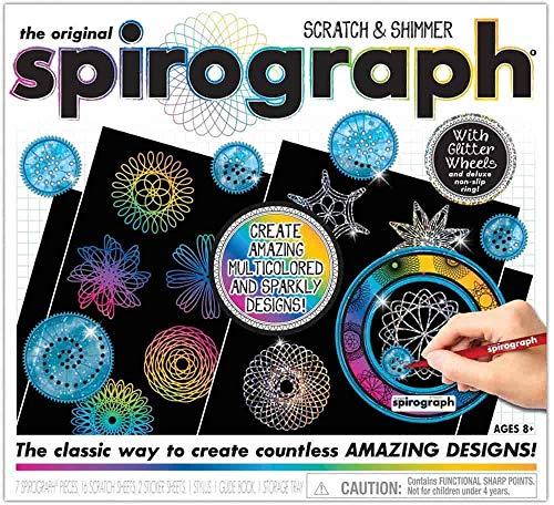 Spirograph CLG03000 The Original Scratch and Shimmer Set