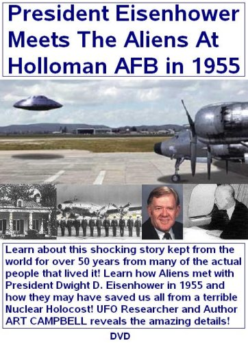 Amazon.com: President Eisenhower Meets With The Aliens At Holloman Air  Force Base in 1955 : The UFO Guy, The UFO Guy: Movies & TV