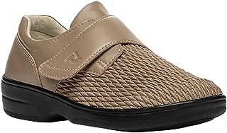 Propet Women's Olivia Slip-on Walking Shoe, Taupe 11 XX-Wide