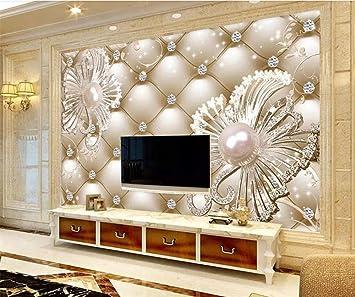 Avikalp Exclusive Awz0292 3d Wallpaper 3d Soft Package Diamond Jewelry Flower Luxury Wall 5d Decorative Hd 3d Wallpaper 91cm X 60cm Amazon In Home Improvement
