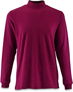 Men's Mock Turtleneck Long-Sleeve Shirt