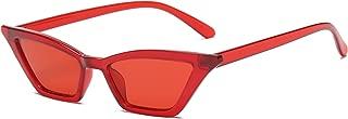 Small Cat Eye Sunglasses Vintage Square Shade Women...