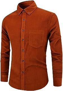 Hemd Herren Langarm Einfarbig Shirt Business Freizeit Kentkragen Hemd Frühling Und Herbst Mode Slim Fit Komfortabel Shirt Sanft Dünn Und Leicht