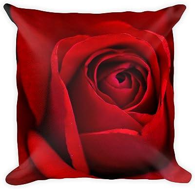 Amazon.com: Hecho a mano Cubierta de almohadas de flores ...