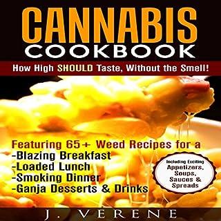 Cannabis Cookbook audiobook cover art