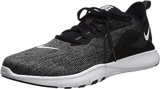 Nike Women's Flex Trainer 9 Sneaker, Black/White - Anthracite, 8.5 Wide US