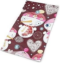 Headband Valentines Day Heart Love You Wedding Cute Snowmans Outdoor Scarf Mask Neck Gaiter Head Wrap Sweatband Sports Headwear