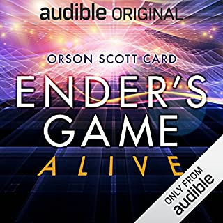 Ender's Game Alive: The Full Cast Audioplay audiobook cover art