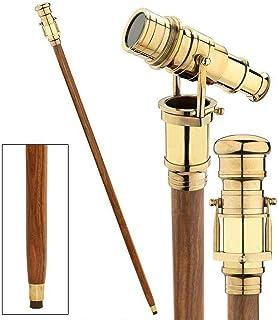 Baston Victoriano con Telescopio