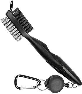 Cepillo de doble cara limpiador de palos de golf de Winomo,