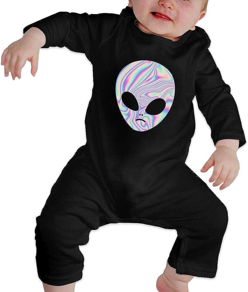 P Alien Calcomanía bebé Crawler Personalidad Escalada Ropa ...