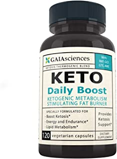 Keto Daily Ultra Boost Keto: Ketogenic Accelerator Diet Pills That Work Fast for Women & Men On Keto Diet Low Carb Thermog...
