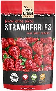 Simple Kitchen Strawberries Frz Drd 1 Pack 0.7oz