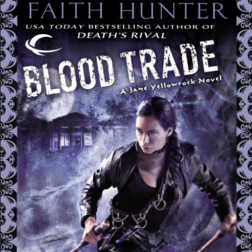 Blood Trade audiobook cover art