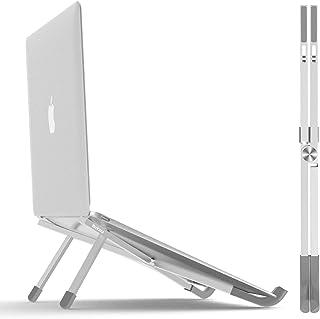 BoYata laptopstativ, vikbar lätt laptop stigare surfplattastativ, bärbar ventilerad skrivbordshållare för MacBook Pro/Air,...
