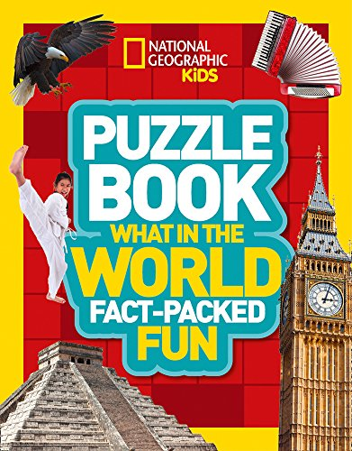 Puzzle Book What in the World: Brain-tickling quizzes, sudokus, crosswords...