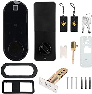 Intelligent Password Door Lock, Hd Panel Multi?Functional Home Security System, Virtual Password Public Buildings for Home...