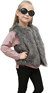 Kid Thick Warm Coat Baby Girl Autumn Winter Faux Fur Waistcoat Vibola
