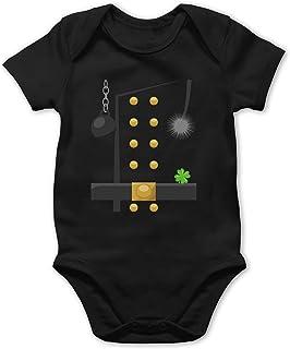 Shirtracer Karneval und Fasching Baby - Schornsteinfeger Kostüm - Baby Body Kurzarm für Jungen und Mädchen