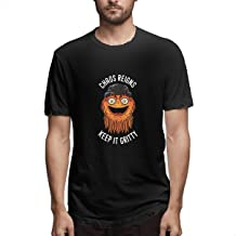 Chaos Reigns Keep It Gritty Custom T-Shirts 100% Cotton for Man