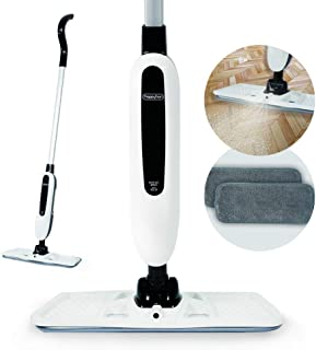 Happyhan Autojet Cordless Spray Mop Cleaner with 2 Microfiber Pads