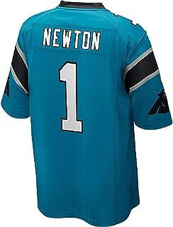 Men's/Women's/Youth Cam #1 Blue Newton Game Jersey