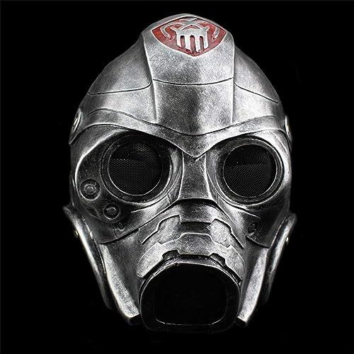 punto de venta barato Máscara de Halloween Máscara de Resina Resina Resina Terror Projoección contra la radiación Máscara de Gas COS Dress Up Headgear Máscara Disfraz Fiesta de Disfraces Apoyos Suministros,plata  Disfruta de un 50% de descuento.