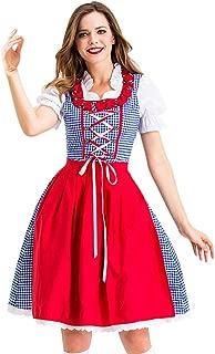 Eldori ハロウィン コスプレ女性ハロウィンコスプレヴィンテージスカートドイツバイエルンメイドドレス レディースハロウィンコスプレドレスドイツバイエルンオクトーバーフェストメイド服
