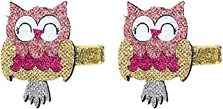 Owl Hair Clip Pins Baby Girls Hairclips Animal Hairpins Infant Toddlers PnaXTong (Color : Gold)