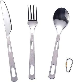 titanium spoon fork