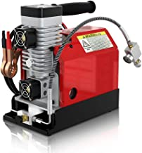 GX Portable PCP Air Compressor,4500Psi/30Mpa,Oil-Free,Powered by Car 12V DC or Home 110V AC with Adapter,Paintball/Scuba Tank Compressor