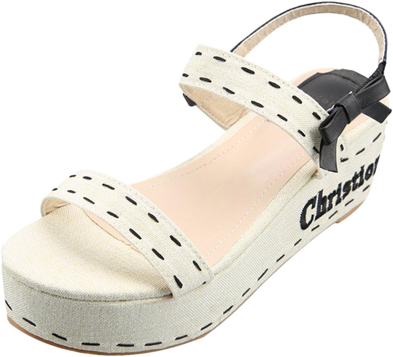 SK Studio Women Bohemian Comfort Design Peep Toe Sandals
