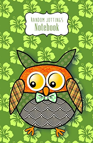"Random Jottings Notebook- ""Hamish"": A Patchwork Owl (Russ Billington Notebooks)"