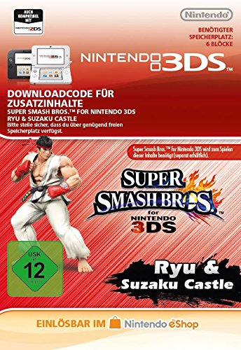 Super Smash Bros. AOC: Ryu DLC [3DS Download Code]