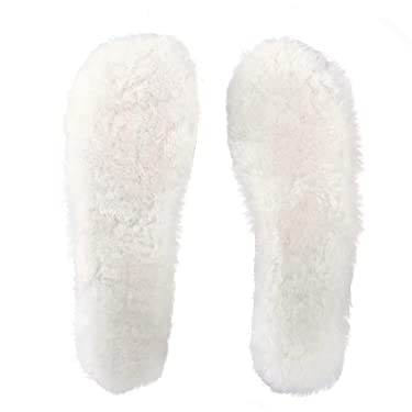 Australian Sheepskin Insoles Unisex Soft Warm Wool Insoles for Shoes, Wellies, Slippers, Boots