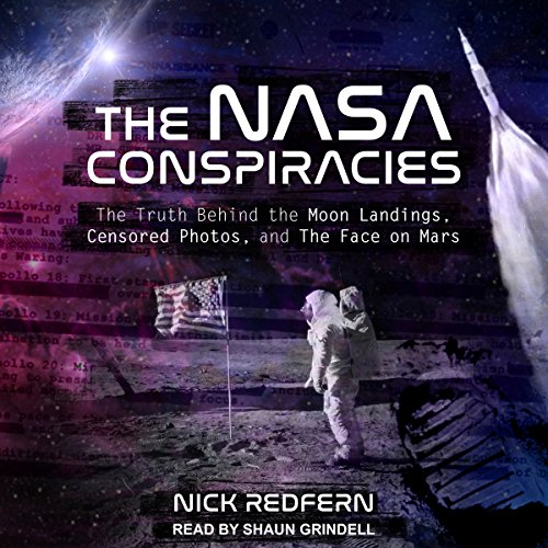 The NASA Conspiracies audiobook cover art