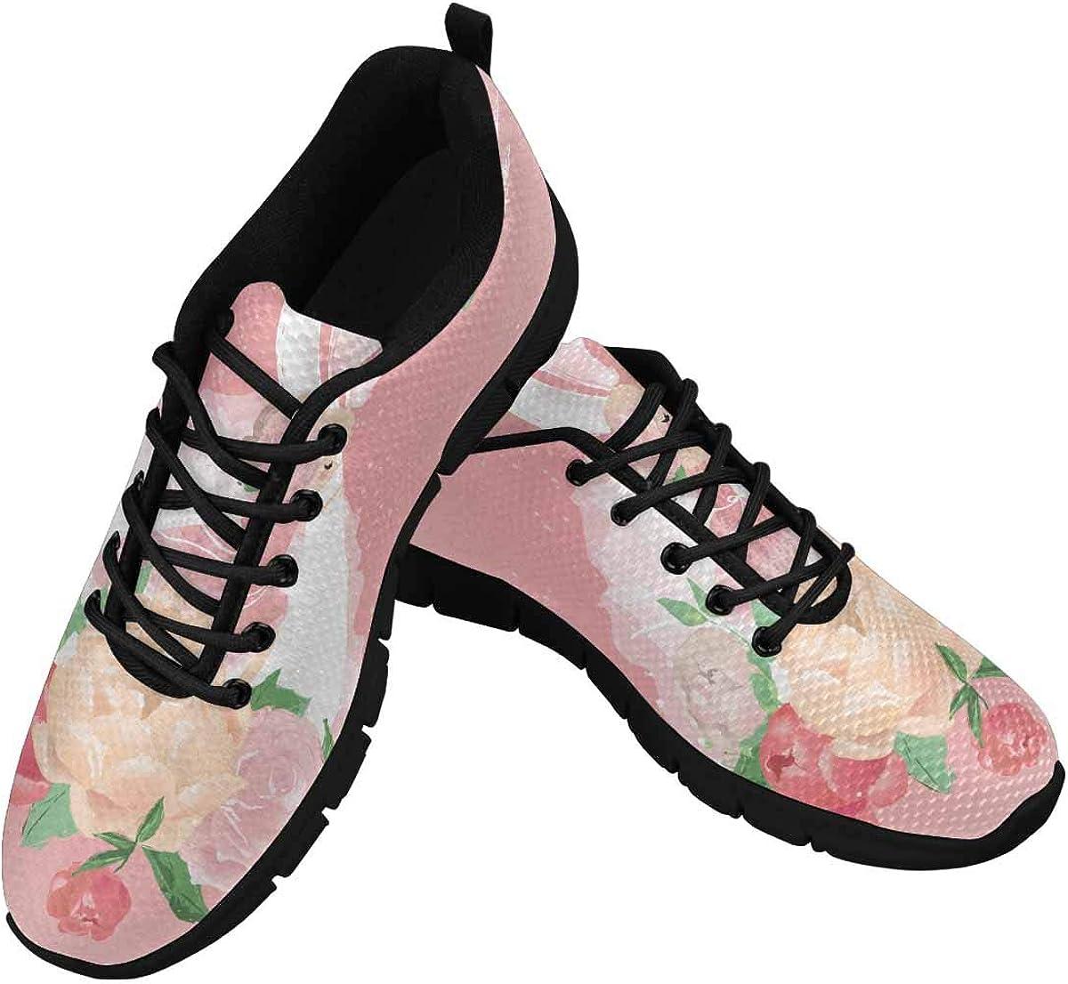 INTERESTPRINT Beautiful San Diego Mall White Swan New Shipping Free Shipping with Women's Flora Sneaker La