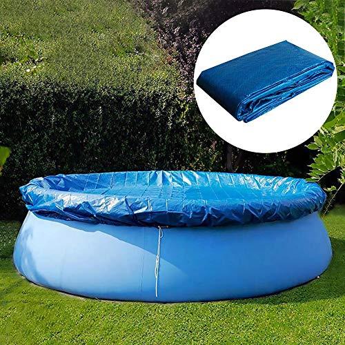 Cubierta de piscina Piscina redonda Tela de tierra Cubierta a prueba de lluvia a prueba de polvo - Cubierta de Invierno para Piscina Redonda Lona Protectora