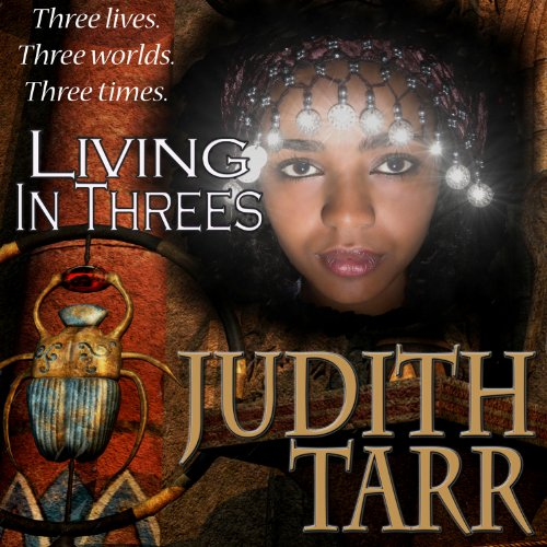 Living in Threes audiobook cover art