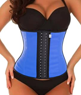 dc3a8c2cd9393 Junlan Waist Trainer Fat Burner Body Shaper Cincher Tummy Firm Control Belt  Plus Size