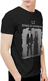 Avis N Men's U2 Songs of Experience T Shirt Black