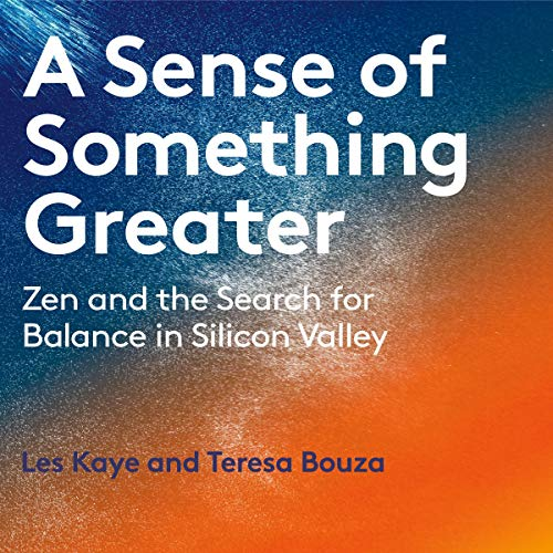 A Sense of Something Greater audiobook cover art